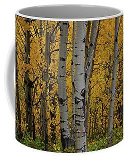 Aspen Golden Coffee Mug