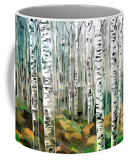 Aspen-green-blue Coffee Mug