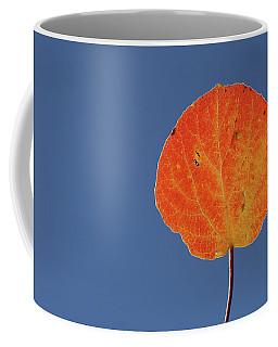 Aspen Leaf 1 Coffee Mug by Marie Leslie