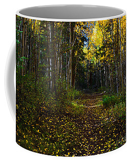 Aspen Leaf Trail Coffee Mug