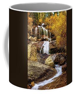 Aspen-lined Waterfalls Coffee Mug