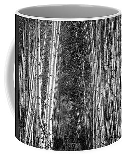 Coffee Mug featuring the photograph Aspen Stalwarts by Scott Cordell