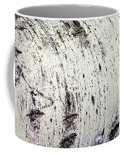 Coffee Mug featuring the photograph Aspen Tree Bark by Christina Rollo