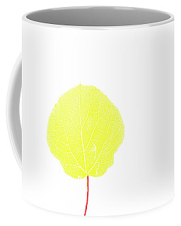 Aspen Yellow Coffee Mug