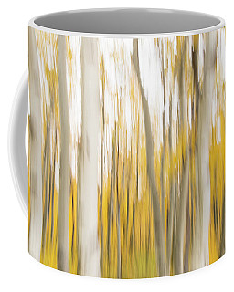 Coffee Mug featuring the photograph Aspens 2 by Alex Lapidus