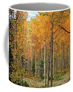 Aspens Aglow  Coffee Mug