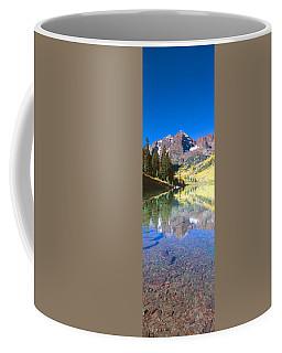 Aspens And Morning Light, Maroon Bells Coffee Mug