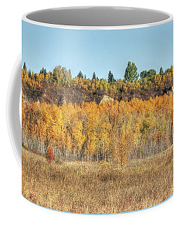 Aspens In Autumn Coffee Mug