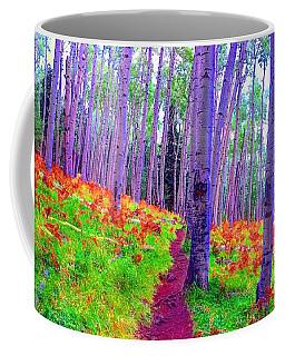 Aspens In Wonderland Coffee Mug