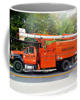Asplundh Tree Expert Company Trucks Coffee Mug