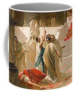 Assassination Of Julius Caesar Coffee Mug