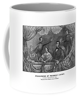Assassination Of President Lincoln Coffee Mug