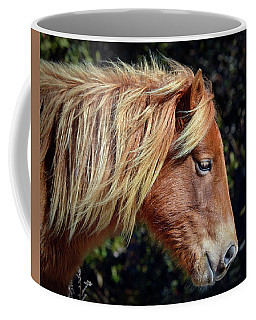 Assateague Horse Sarah's Sweet Tea Right Profile Coffee Mug