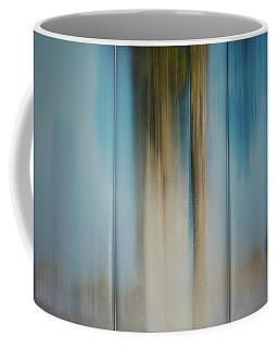 Assembled Triptich On Wall Coffee Mug