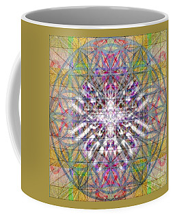 Assent From The Womb In The Flower Tree Of Life Coffee Mug by Christopher Pringer