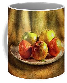 Assorted Fruits In A Plate Coffee Mug