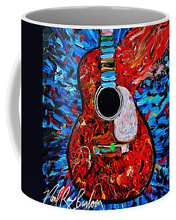 Asteroid Guitar Coffee Mug