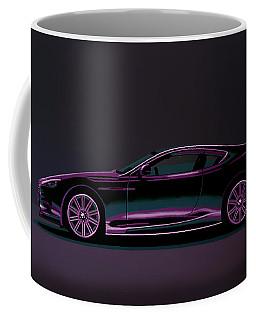 Aston Martin Dbs V12 2007 Painting Coffee Mug
