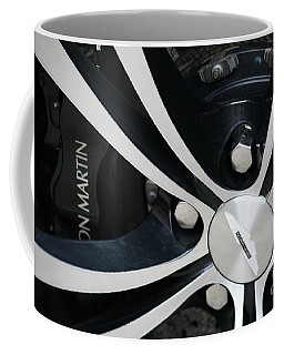 Aston Martin Detail Coffee Mug by Mary-Lee Sanders