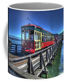 Astoria Riverfront Trolley Coffee Mug