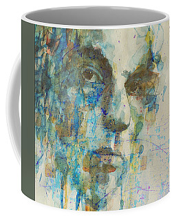 Coffee Mug featuring the mixed media Astral Weeks by Paul Lovering
