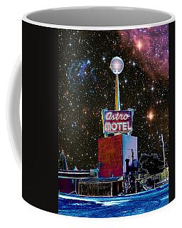 Astro Motel Coffee Mug by Jim and Emily Bush