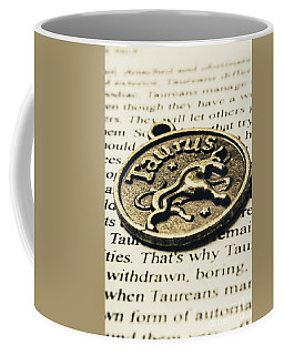 Astrological Definition In Taurus Coffee Mug