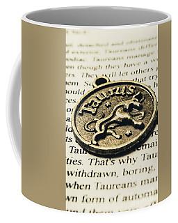 Astrological Definition In Taurus Coffee Mug