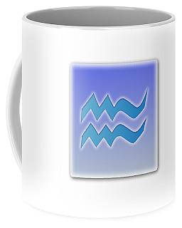 Aquarius Sun Sign Astrology  Coffee Mug