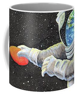 Astronaut Disc Golf Coffee Mug