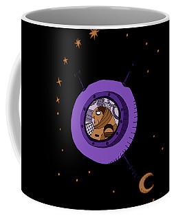 Astronaut In Deep Space Coffee Mug