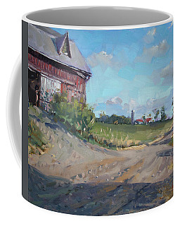 At Barn In Georgetown On Coffee Mug