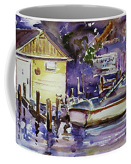 At Boat House 3 Coffee Mug