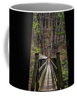 Coffee Mug featuring the photograph At Bridge by Kevin Blackburn