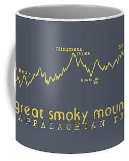 At Elevation Profile Gsm Mustard Coffee Mug by Heather Applegate