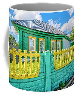At Home In Belarus Coffee Mug