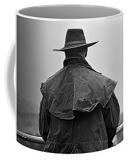 At Home On The Range #3 Black And White Coffee Mug