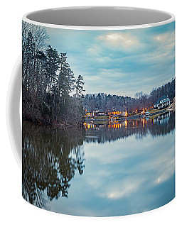 At Home On The Lake Coffee Mug