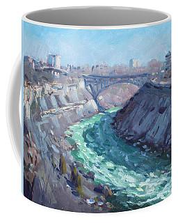 At Niagara Gorge Coffee Mug