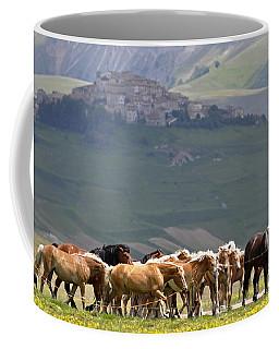 Castelluccio Di Norcia, Parko Nazionale Dei Monti Sibillini, Italy Coffee Mug