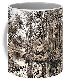 Coffee Mug featuring the photograph At Swamps Edge by Kristin Elmquist