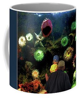 Coffee Mug featuring the photograph At The Aquarium by Wayne King