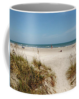 On The Beach Coffee Mug by Amar Sheow