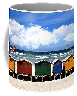 Coffee Mug featuring the photograph At The Beach by David Dehner
