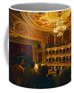 At The Budapest Opera House Coffee Mug by Madeline Ellis