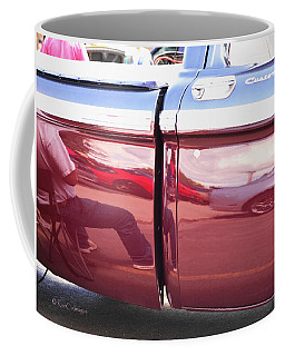 At The Car Show Coffee Mug by Kae Cheatham
