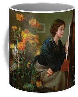At The Easel  Coffee Mug