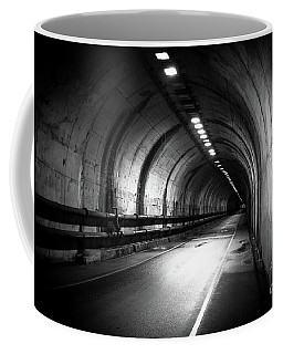Coffee Mug featuring the photograph At The End Of The Tunnel by Ana V Ramirez