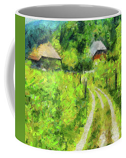 At The End Of The Valley Coffee Mug
