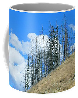 Coffee Mug featuring the photograph At The End Of The World by Ivana Westin
